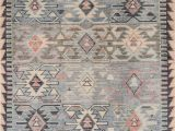 Finn Hand Knotted Rug Blue Multi Bring some Fun Colorful Life Into Your Space with the Agape