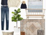 Finn Hand Knotted Rug Blue Multi Fashion Look Featuring Pottery Barn Kitchen & Tabletop and
