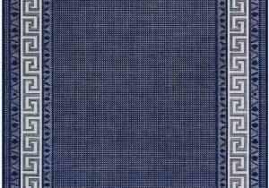 Flat Weave Blue Rug Greek Key Flatweave Rug by oriental Weavers Colour Blue