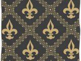 Fleur De Lis Bathroom Rug Naanle Golden Fleur De Lis Classical Pattern soft Absorbent Guest Hand towels Multipurpose for Bathroom Hotel Gym and Spa 16 X 30 Inches
