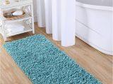 Floor Dimensions Bathroom Rugs Vcny Home Bathroom Rug Paper Scarf 24×60 Light Blue