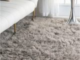 Fluffy area Rugs for Bedroom Nuloom Hand Made Plush Greek Flokati Wool Shag area Rug In