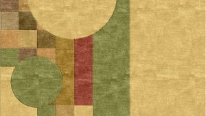 Frank Lloyd Wright Style area Rugs Frank Lloyd Wright Mission Style Inspired Rug