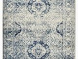 French Blue area Rugs Dalton Vintage French Aubusson White Blue area Rug