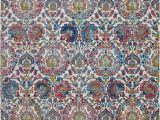 French Blue area Rugs Nourison Ankara Global Blue and Ivory French Country area Rug