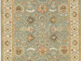 French Blue area Rugs Smk 5 French Blue Ivory