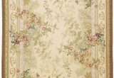 French Country Wool area Rugs Rosemont Aubusson Rug