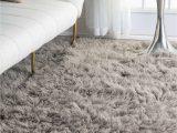 Fur area Rugs for Sale Premium Greek Flokati Natural Gray Rug