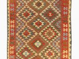 Gaines Hand Woven Natural area Rug by Charlton Home Kilim Hand Woven Wool Brown area Rug