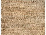 Gaines Hand Woven Natural area Rug by Charlton Home Zjx F Hand Woven Jute Rug soft Natural Hemp Living Room
