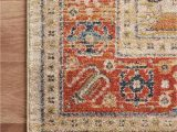 Graham Blue Multi Rug Gra 03 Mh Persimmon Ant Ivory