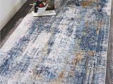 Gray and Blue Runner Rug Feizy Rugs Cadiz Blue Gray Runner area Rug