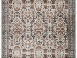 "Gray and Rust area Rug Colette Tribal Rust Gray area Rug 5 3""x7 7"""