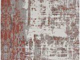 Gray and Rust area Rug Kalaty Jardin Jr 643 Rust Grey area Rug