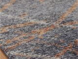 Gray and Rust area Rug Regal Vivid Style