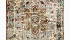 Gray and Rust area Rug Ubon oriental Gray Rust area Rug