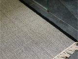 Gray and Tan Bathroom Rugs In From New Zealand Natural Fiber Nodi Rugs Remodelista