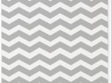 Gray and White Striped area Rug Amazon Cafepress Grey and White Chevron 3 X5