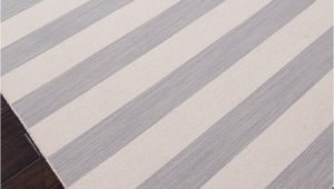 Gray and White Striped area Rug Dias Collection From Jaipur Gray and White Striped area