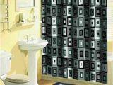 Gray and Yellow Bathroom Rug Sets Home Dynamix Bath Boutique Shower Curtain and Bath Rug Set 316 450 Blocks Black 15 Piece Bath Set Walmart