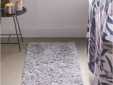 Gray Bath Rug Runner Joie Shag Runner Bath Mat