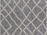 Gray Indoor Outdoor area Rug Wyman Geometric Charcoal Gray Indoor Outdoor area Rug