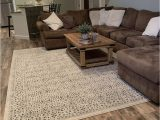 Gray Living Room area Rug Sattley area Rug