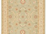Green and Gold area Rugs Kolos Hand Knotted Medallion Green Gold area Rug 10 X14