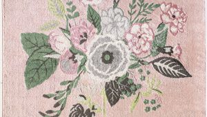 Green and Pink area Rugs southard Pink Green Black area Rug