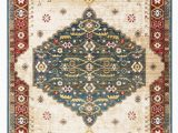 Green and Red area Rugs Kurtz Dark Green Red area Rug