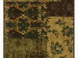 Green and Red area Rugs oriental Weavers Allure 058b1 Green Red area Rug