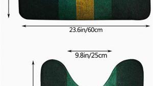 Green Bay Packers Bathroom Rug Set Amazon Kanteband Green Bay Packers Printed 2 Non Slip