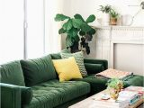 Green Couch Blue Rug Crushing On Green Seating Green sofa Living Living Room