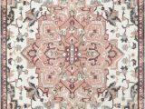 Grey and Peach area Rug Bungalow Rose Dario Blush Pink Grey area Rug Bungalowrose