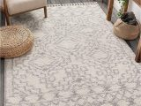 "Grey and White area Rug 5×7 Well Woven Miranda Grey Moroccan Shag Diamond Medallion Pattern area Rug 5×7 5 3"" X 7 3"""