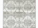 Grey and White area Rug Walmart Summit Collection Traditional Pattern Gray area Rug