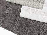 Grey and White Bath Rug Manchester solid Bath Rug 2 Piece Set – Ed Ellen Degeneres