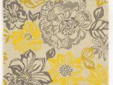 Grey and Yellow Bath Rug El Kubra Hand Woven Grey & Yellow area Rug with Images