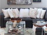 Grey area Rug Living Room Rustic Glam Living Room New Rug