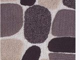 "Grey Bathroom Rug Runner Pebble Stone Bath Runner Antiskid 24""x60"" soft & Absorbent Bathroom Rugs Non Slip Bath Rug Runner for Kitchen Bathroom Floors Beige Brown"