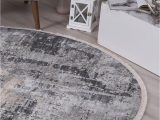 Grey Blue Round Rug istanbul Modern Ayla Blue Round Rug Rugs A Million