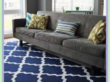 Grey Couch Blue Rug 116 Reference Of Gray sofa with Navy Blue Pillows In 2020