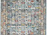 Grey Multi Colored area Rugs Chillon Light Blue Multi Rug Rvd