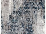 Grey White and Blue Rug Mist Breeze Transitional Rug Modern Rugs Blue Blue Grey