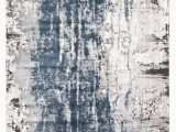 Grey White and Blue Rug Roxana Distressed Timeless Rug Blue Grey White