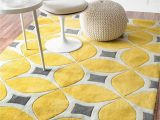 Grey Yellow White area Rug 25 Yellow Rug and Carpet Ideas to Brighten Up Any Room