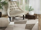 Grimes Taupe Beige area Rug Anabella Geometric Brow Taupe area Rug