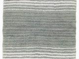 """Grund organic Cotton Bath Rug Gradiation Bath Rug 24""""x40"""" Gray"""