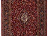 Halyn Hand Knotted Rug Blue Multi Gagan Persian Kashan Kork 220x140cm