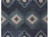 Hand Tufted Blue Wool Rug Harrison Hand Tufted Wool Blue area Rug